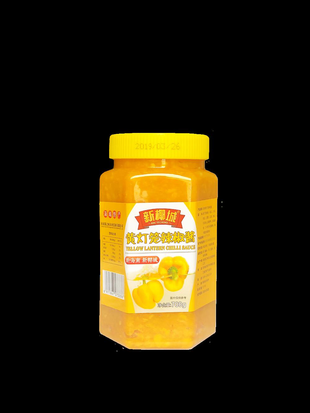 新椰城海南黄灯笼辣椒酱